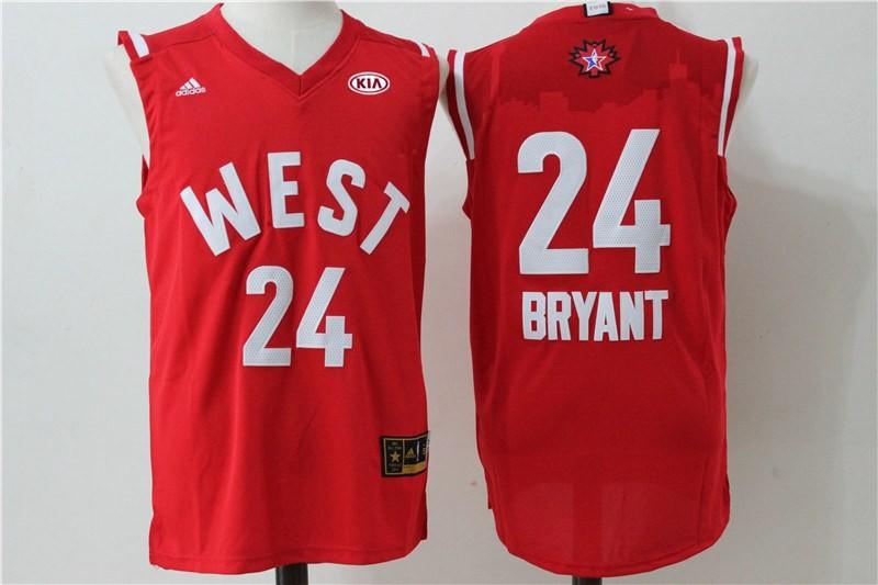 599a5b4ad Instock NBA All Star Los Angeles Lakers Kobe Bryant Swingman Jersey ...