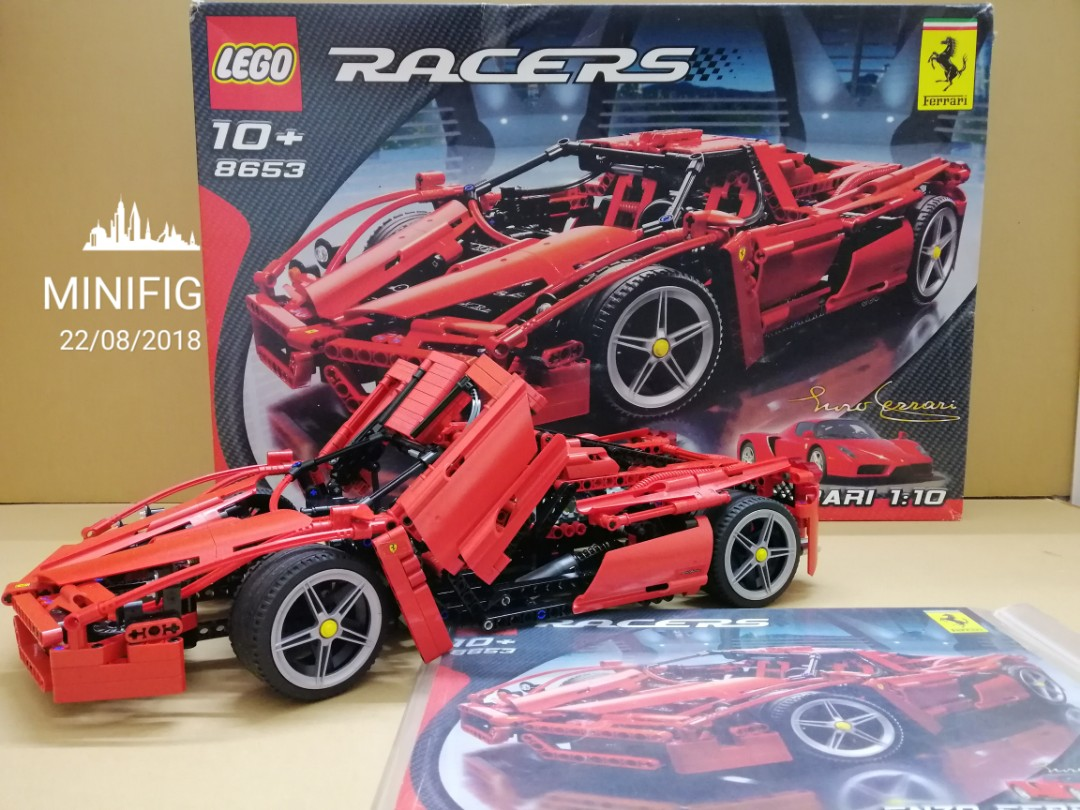 Lego Technic 8653 Racers Enzo Ferrari 110 Scale Used Set Rare