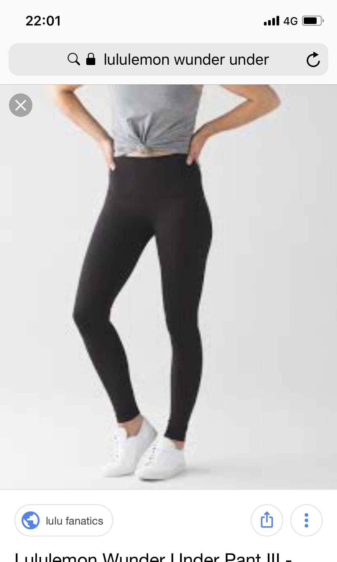a7043d6b516 Lululemon Wunder Under Pants size 2, Sports, Sports Apparel on Carousell