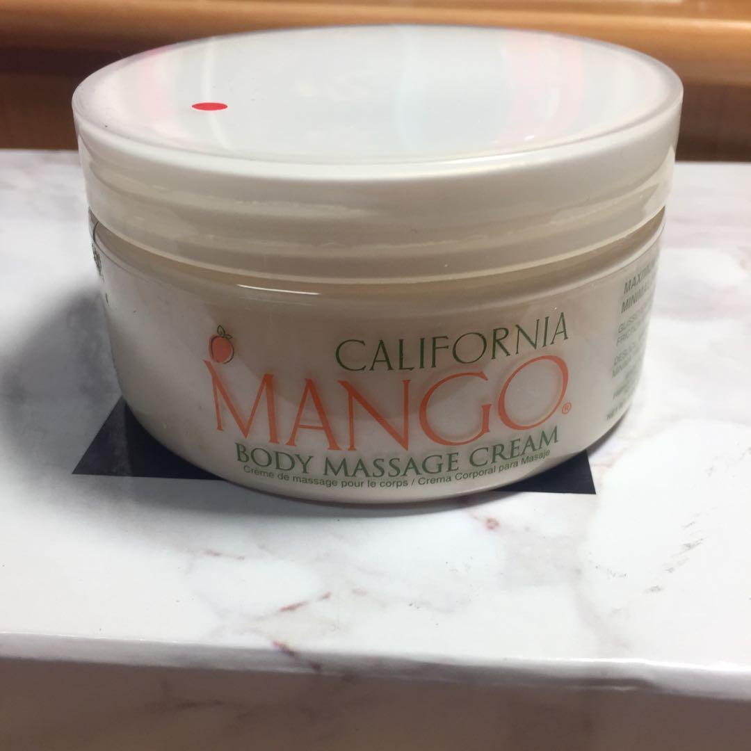 (免運)Mango 按摩霜