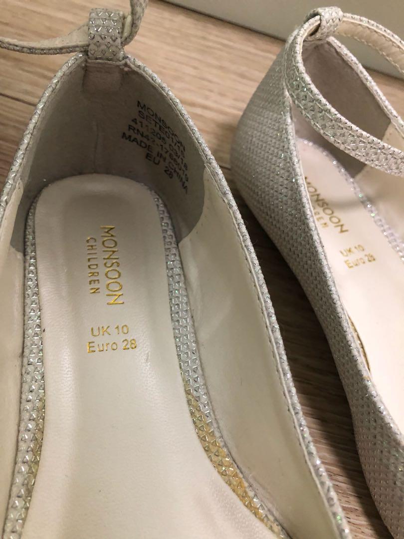 Monsoon花女鞋