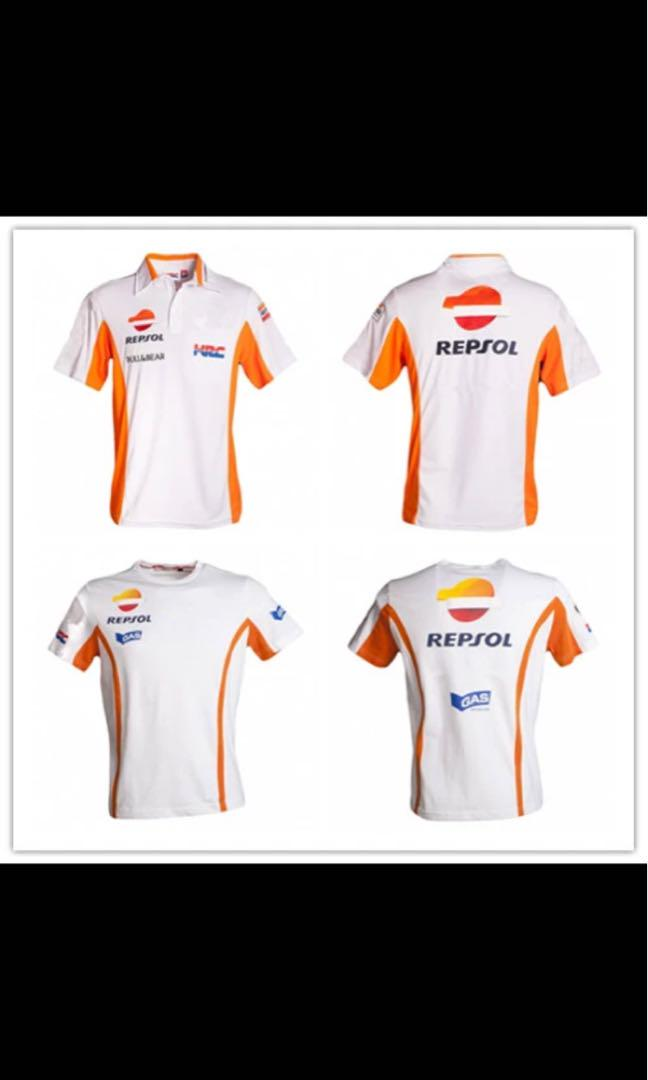 New Motogp Team Factory Service For Honda Polo Shirt Motorcycle Riding Short Sleeved Racing T Shirt Track Special Service Motorcycles Motorcycle Apparel On Carousell