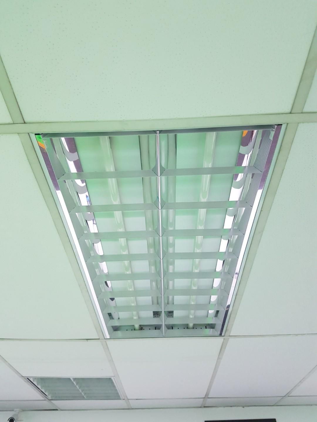 3 X Sets Of Office Ceiling Lights Property Others On Carousell