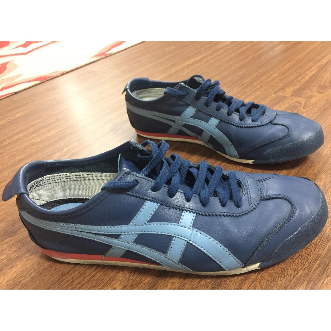 Onitsuka Tiger LEGIT Mexico 66 Navy Light Blue shoes sneakers US 10.5 SRP  P5 29a30aa61