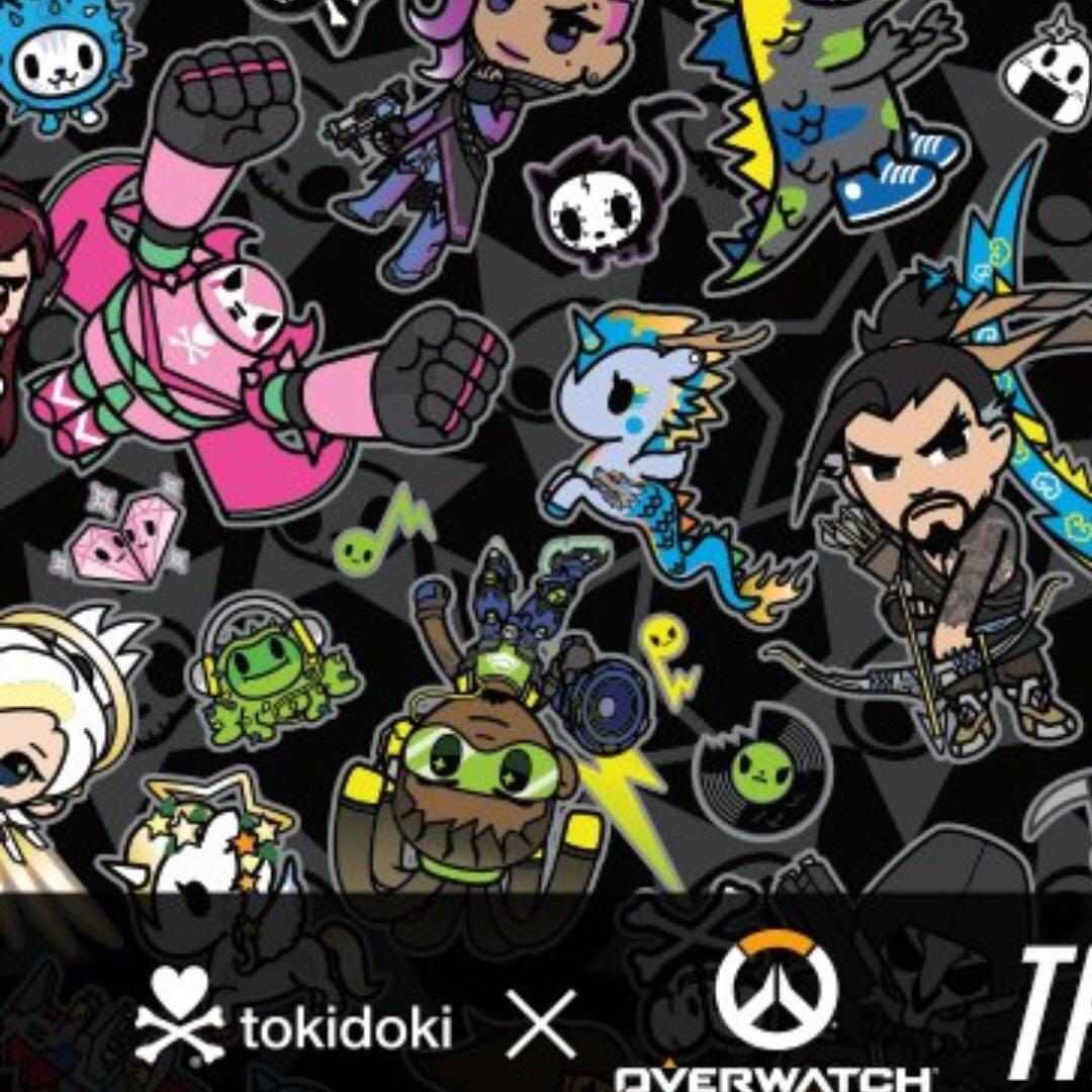0c6d2c2c70e Overwatch x Tokidoki Merchandise