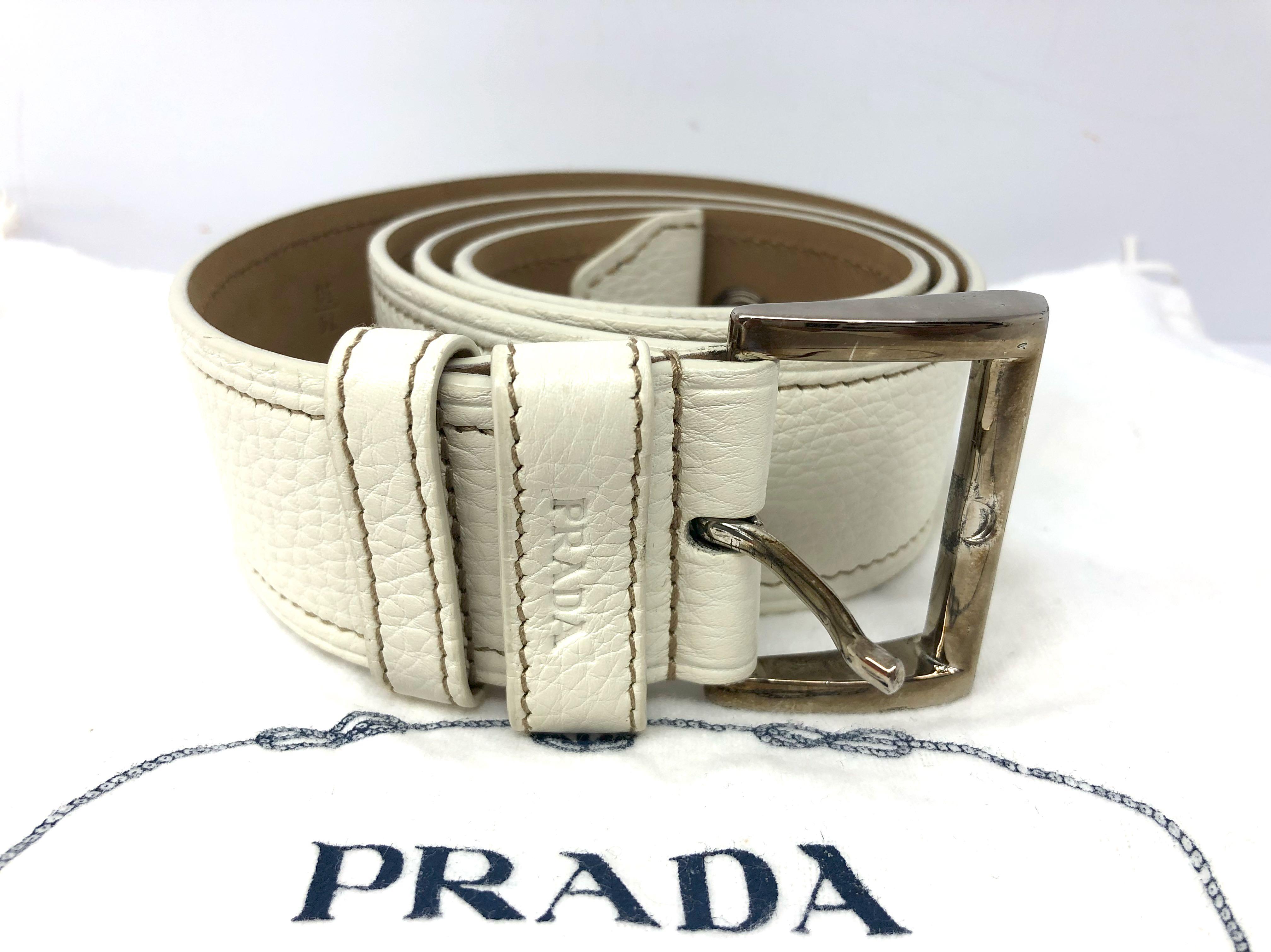 PRADA Belt size 75 56161533252bf