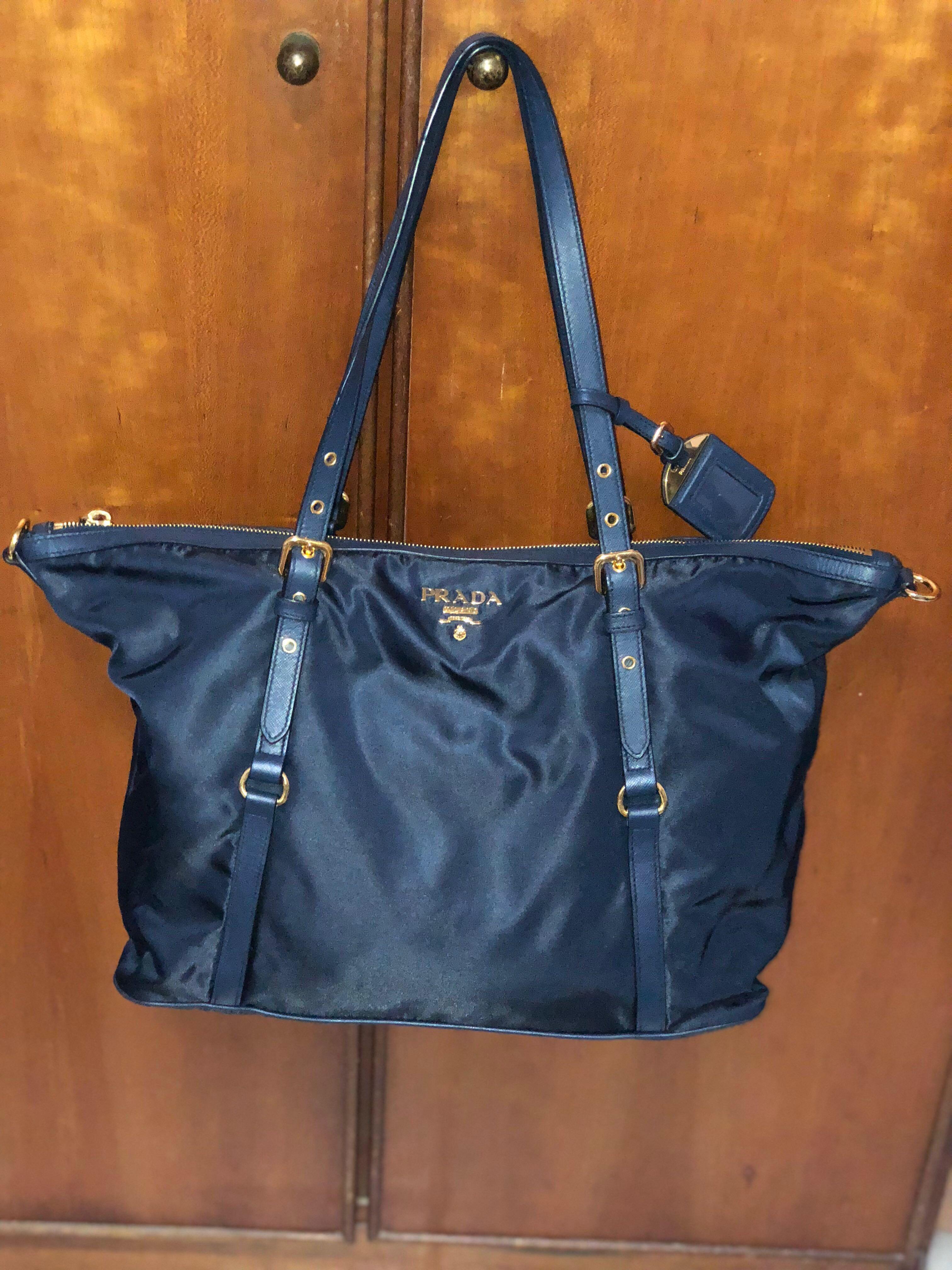 ad50cd63a4 Prada BR4253 Nylon Tote Bag