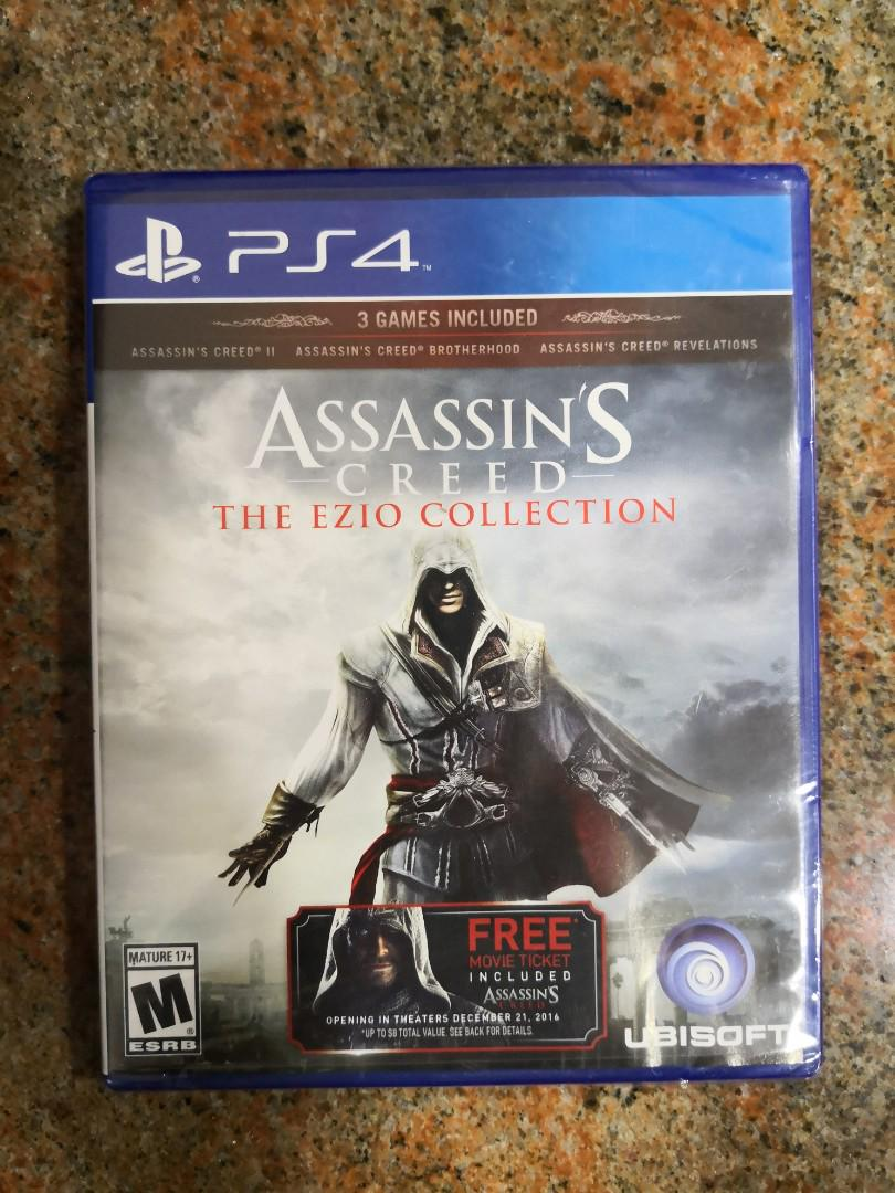 Ps4 Assassin Creed The Ezio Collection Toys Games Video Gaming