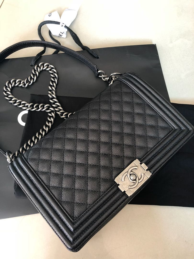 eea3228625b346 💫RARE! CHANEL LE BOY💫 Price Drop! $5,800!, Luxury, Bags & Wallets ...