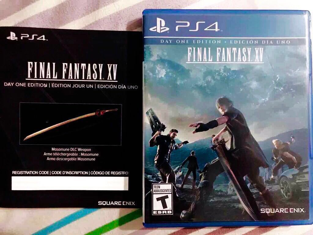 🇸🇬 PS4 Final Fantasy XV Day One Edition