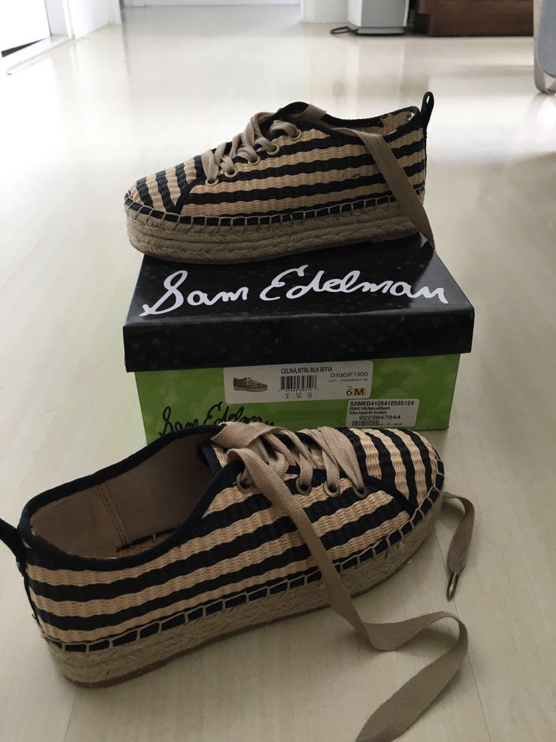 8bf20ba7116 Sam Edelman Celina Espadrilles Sneakers Size 6