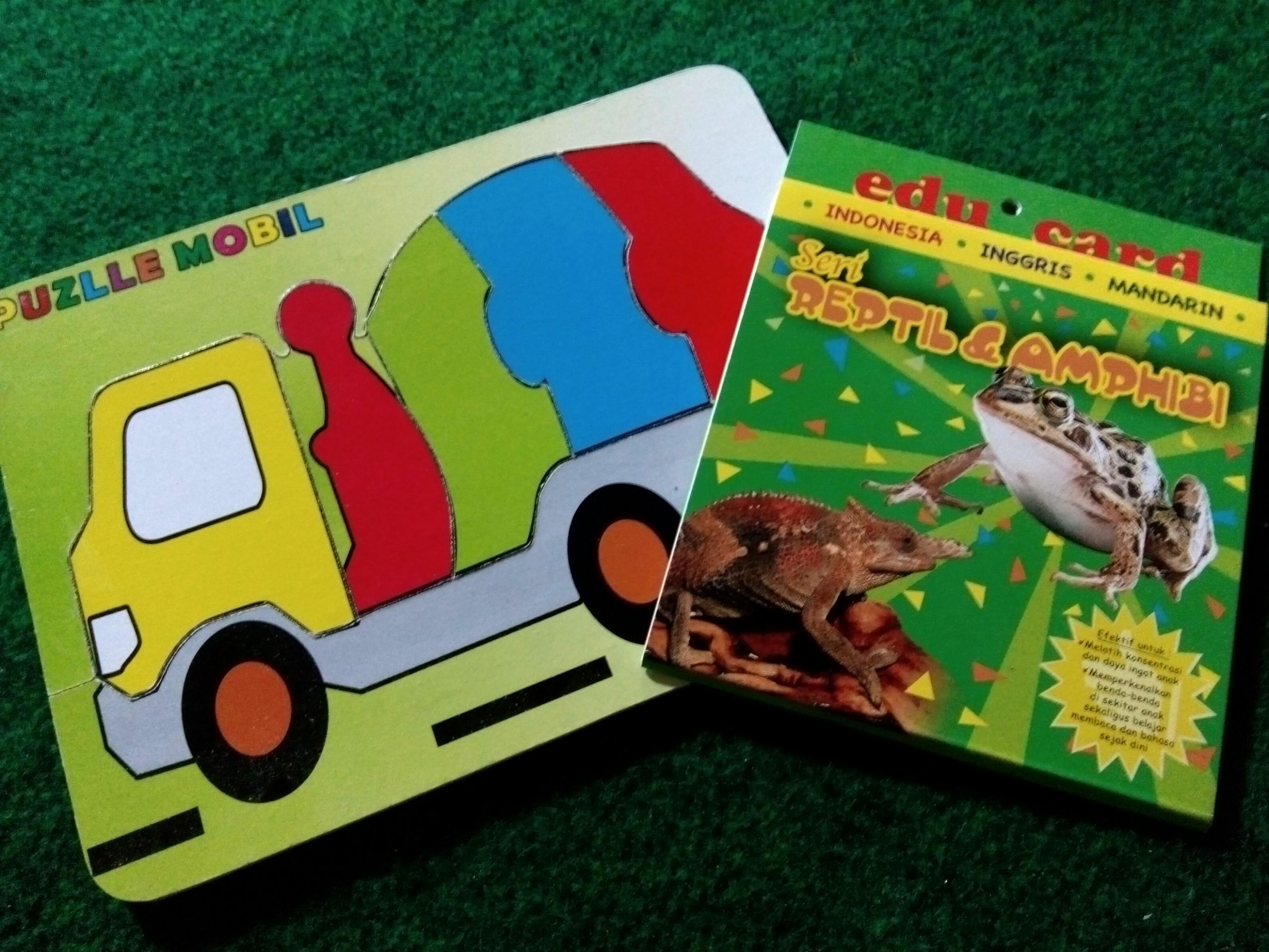 "[PROMO ONGKIR] ""The Puzzle 'n Edu Card"""