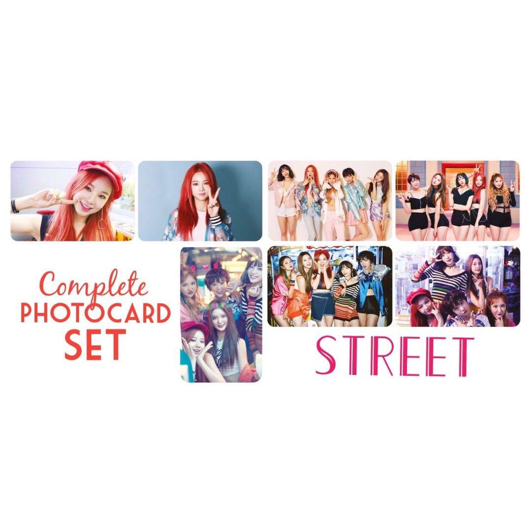WTB Street EXID Photocards