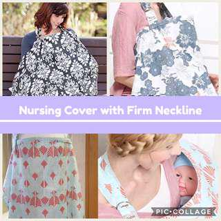 🚚 BN Nursing Cover With Firm Neckline