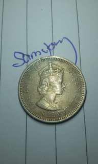 1961 malaya 10 cents