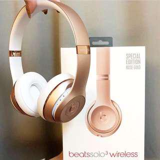 🚚 Beats solo3 wireless 藍芽無線耳機