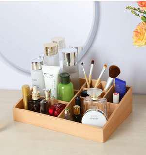 Authentic Decorations Wooden Make-up Organizer