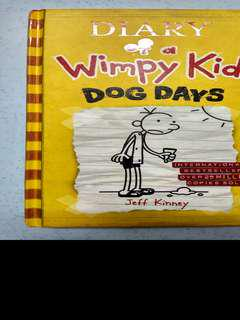 Diary Of A Wimpy Kid: Dogs Day (Hardback)