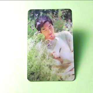 EXO SUHO NATURE REPUBLIC LENTICULAR PHOTOCARD