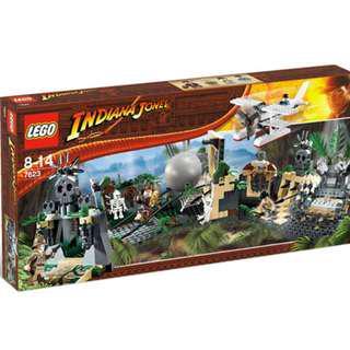 Lego 7623 Indiana Jones Temple Escape ! Rare !