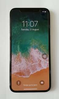 Apple iPhone X 256 GB (Silver)
