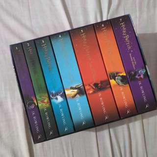 Harry Potter Bloomsburry Edition Set From UK