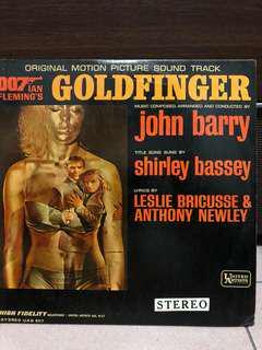 007 Goldfinger Original Soundtrack (vinyl record)
