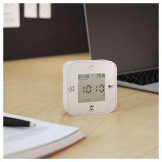🚚 IKEA時鐘/溫度計/鬧鐘/計時器 白色 黑色