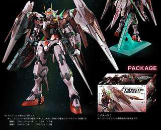 BNIB P Bandai PG 1/60 Gundam 00 trans-am raiser plus clear body parts