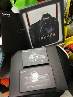 Canon eos 1dx 禮盒套裝, 袋,相機記憶卡,相機模型