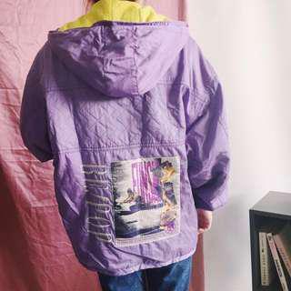 REPRICE! Purple pop jacket