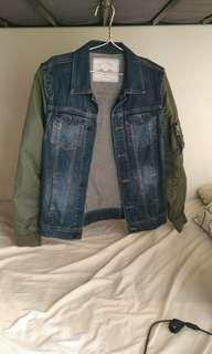 Zara jacket mix size M to L