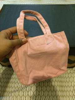 (FREE POSTAGE SM) Cute Pink Tote Bag