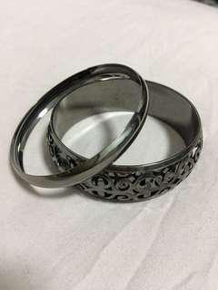 🚚 鐵灰色手環