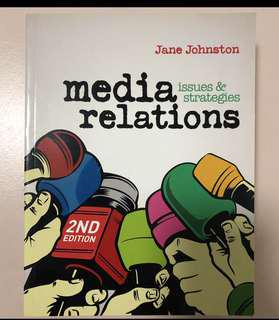 Media relations issues & strategies