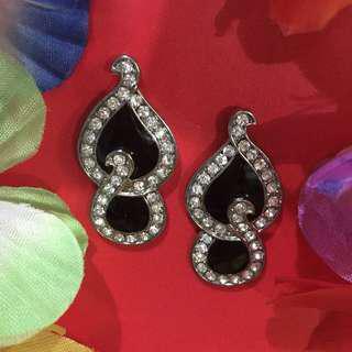 Black Party Earrings