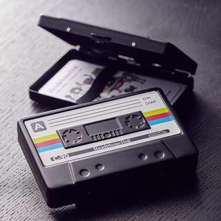 金屬烤漆錄音帶 名片盒/菸盒/鈔票夾/錢夾