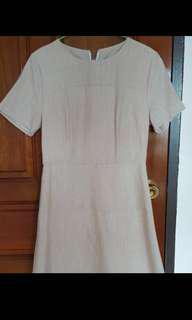 Dressabelle Dress in Blush Pink
