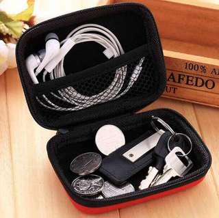 Storage Hard Case Pouch Organizer Cable Earphone Charger Powerbank Headset USB