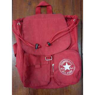"CONVERSE ""Wrinkled Bag"" Red - ORIGINAL"