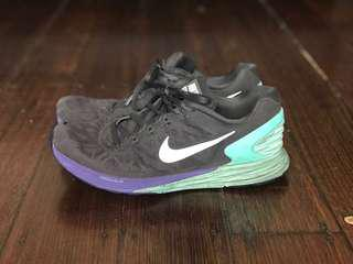 Two pairs of nike shoes