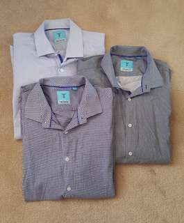 Men's dress shirts short sleeves shirts and polos