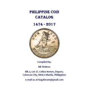 Philippine Coin Catalog (E-BOOK)