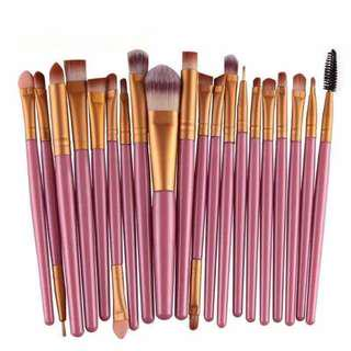 20pcs brushes