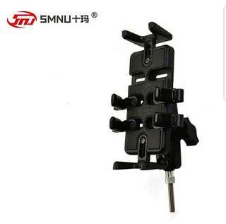 SMNU single ball finger grip set motorcycle phone holder