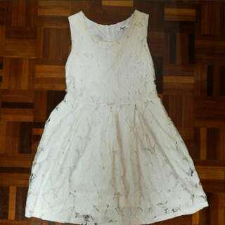 Off-White Lace Dress #MidSep50