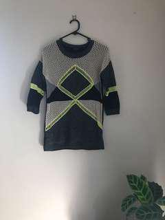 Mixed Color Knit
