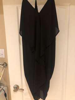 Black party dress from honey