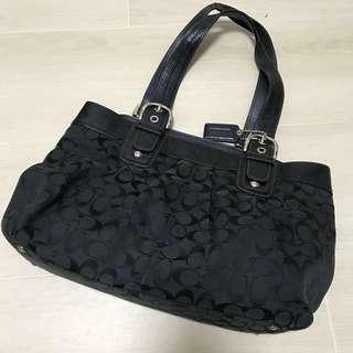 Coach bag 100%real 70%new