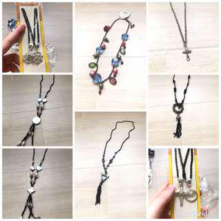 Korean necklace $10 each 清貨